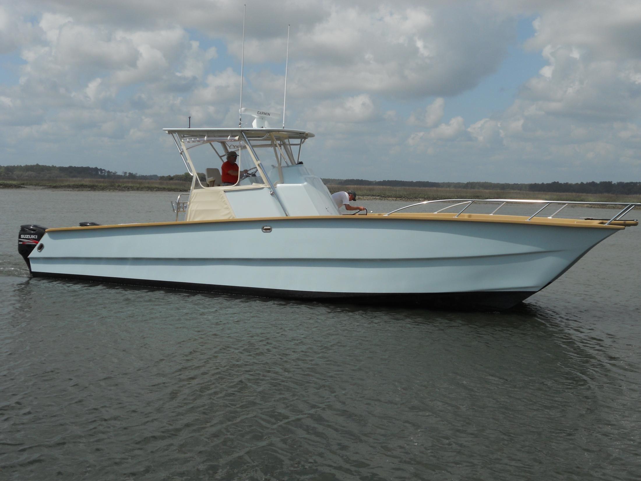 2011 Mike Scearce Design 42 SPORTFISH CATAMARAN Power Boat ...  2011 Mike Scear...