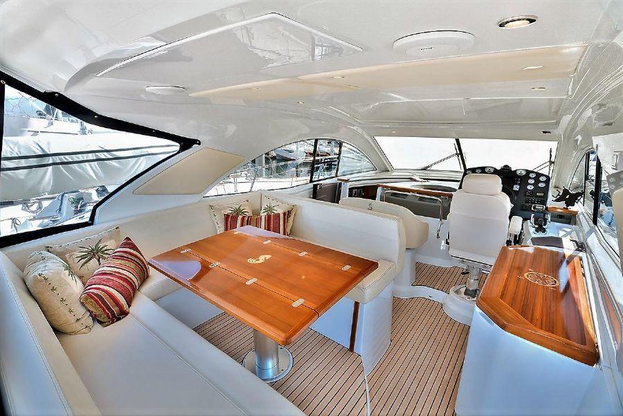 Beneteau Powerboats GT44 Cockpit Layout
