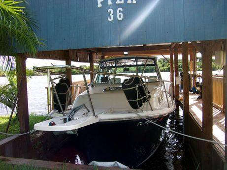 """2003 Mainship """"30"""" Pilot II Rigid Bimini"""