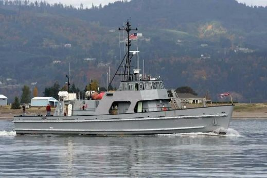 1987 Navy Training Research Vessel - Expedition Passenger Conversion Candidate