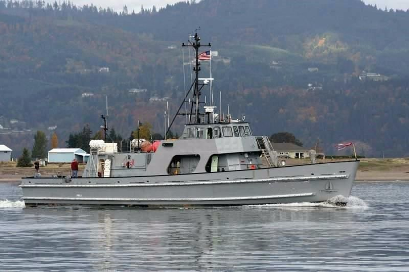 1987 Navy Training Research Vessel Expedition Passenger