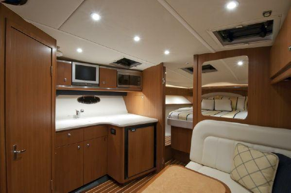 Pre-Owned Tiara Yacht Interior