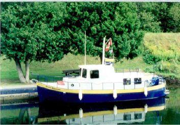 1989 Kettle Creek Steel Trawler