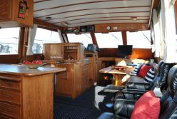 photo of  Canoe Cove 53 Tri Cabin Pilothouse