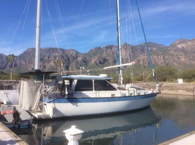 39' Lancer Yachts Motorsailor Pilothouse+Boat for sale!