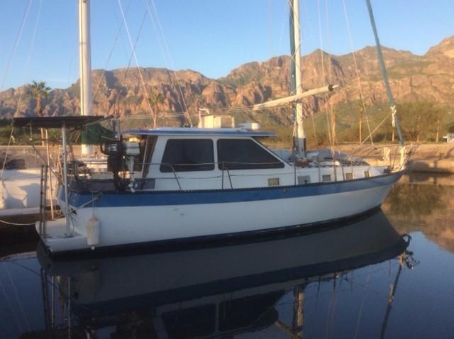 39' Lancer Yachts Motorsailor Pilothouse+Photo 5