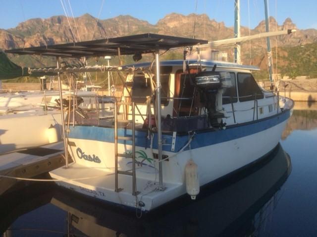 39' Lancer Yachts Motorsailor Pilothouse+Photo 6