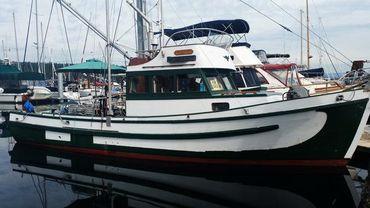 1974 Silva Bay Shipyards Charter Vessel