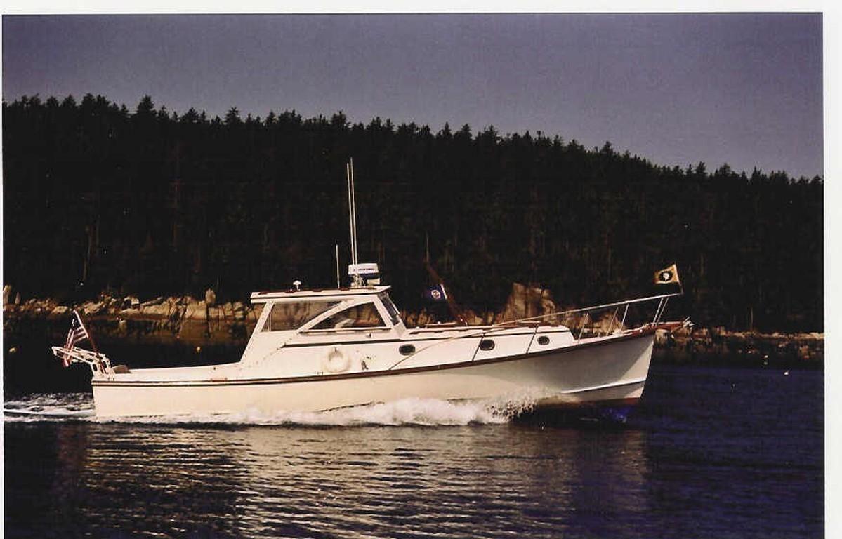 Boats yachts maine boats lobster boats picnic boats sailing - 1979 Jarvis Newman 36 Picnic Boat