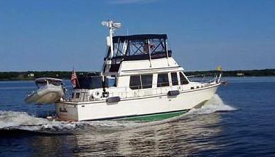 1989 Sabre Sabreline 36 Fast Trawler