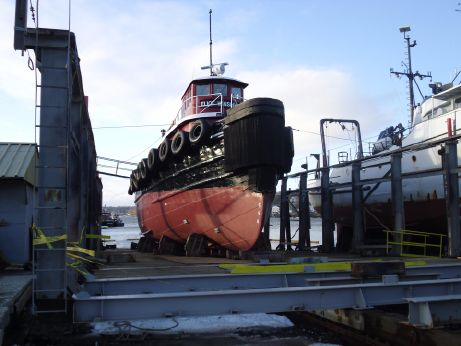 1943 Model Bow Tug - Single Screw - 2400 Hp - Harbor and Near Coastal Towing