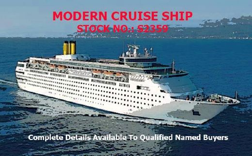 1992 Cruise Ship, 1700 Passengers -Stock No. S2359