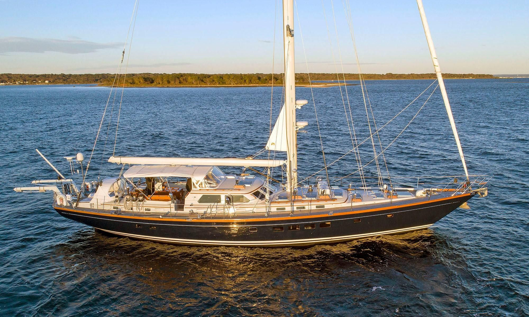1991 Little Harbor Custom 75 Sail Boat For Sale Www