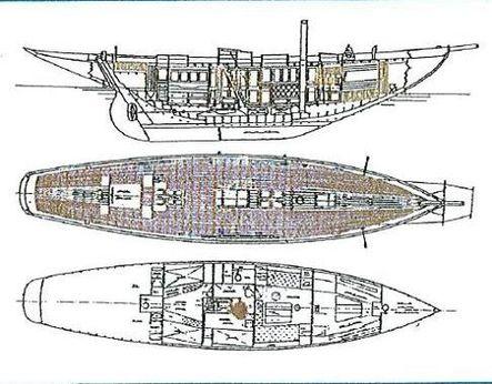 1929 Philip &Son sloop