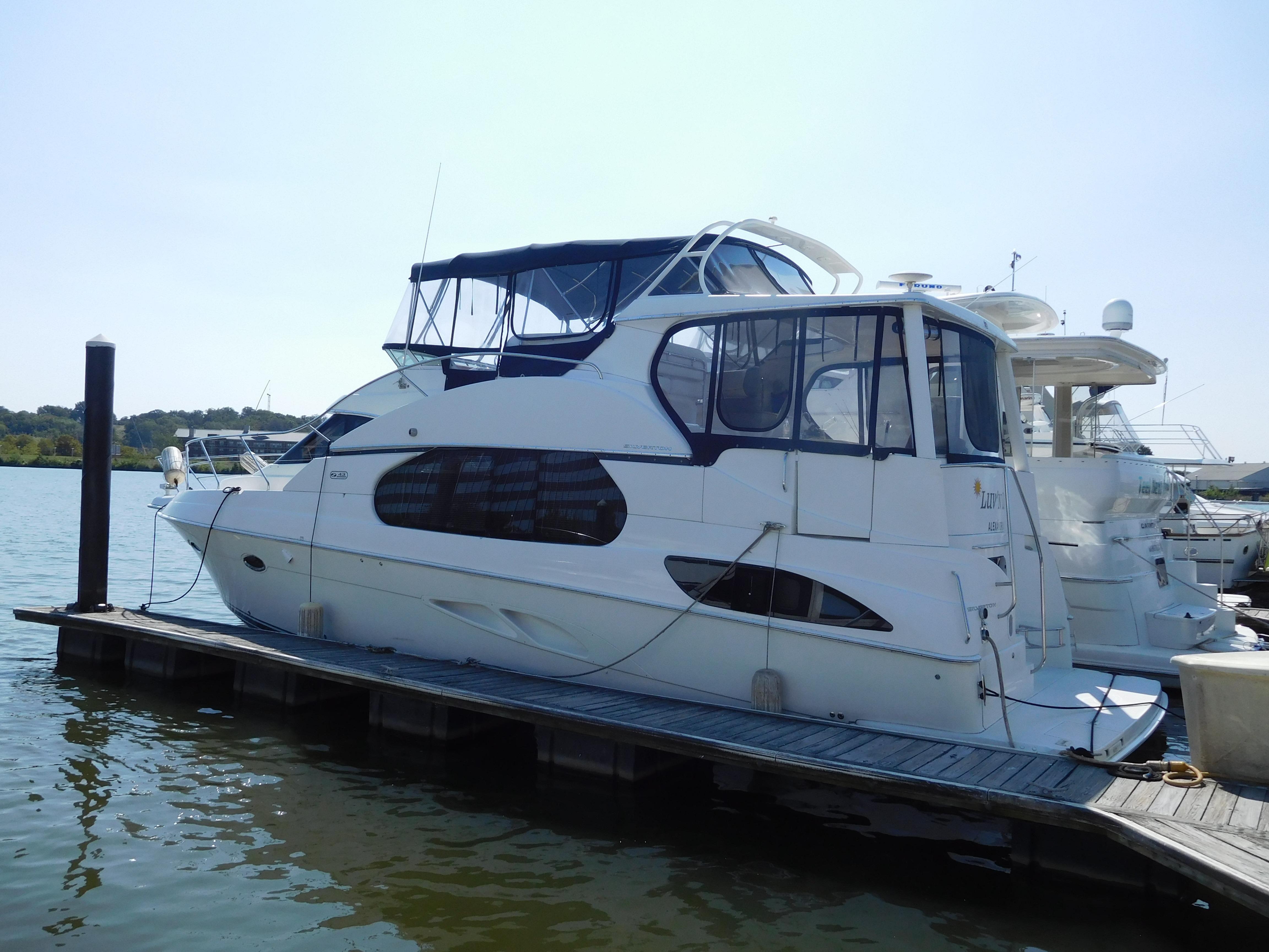 2006 Silverton 43 Motor Yacht Power Boat For Sale Www