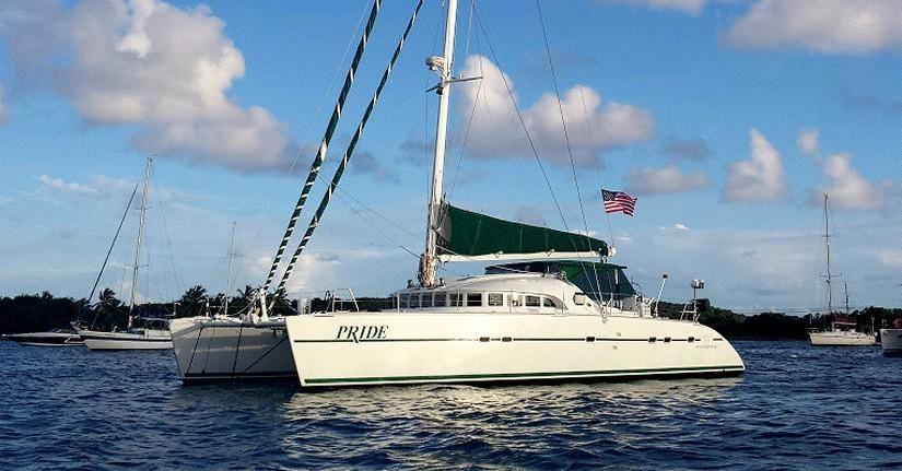 2001 Lagoon 570 Sail Boat For Sale - www yachtworld com