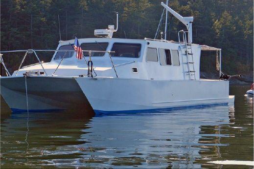 2008 Boden Custom Aluminum Power Catamaran