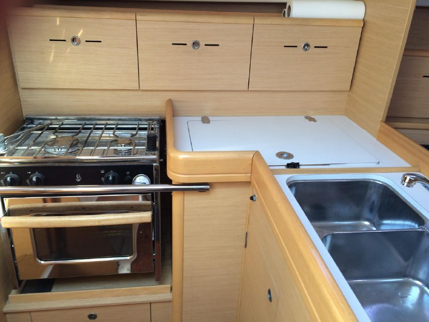Beneteau First 36.7 Galley Kitchen