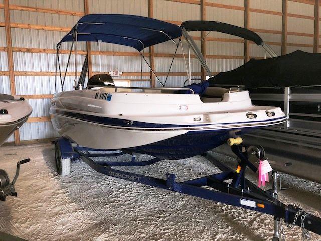 2018 Starcraft Deckboat Limited 1915 OB Power Boat For Sale