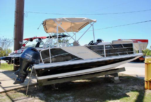 2017 Hurricane Fundeck 216RE3 Pontoon Boat