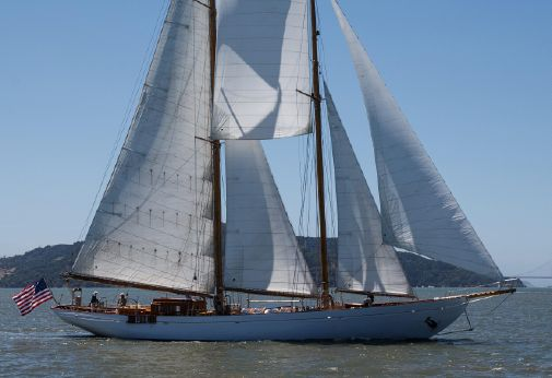 1938 Brooks Motor Craft, Uk Classic Staysail Schooner