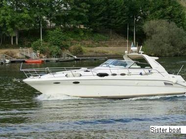 1996 Searay 370 Sundencer [MF15600]