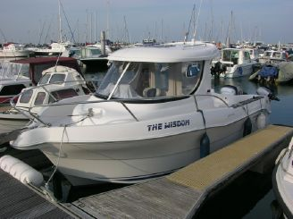 2009 Quicksilver 640 Pilothouse.