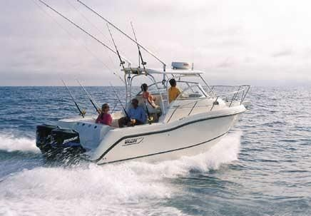2001 Boston Whaler 255 Conquest