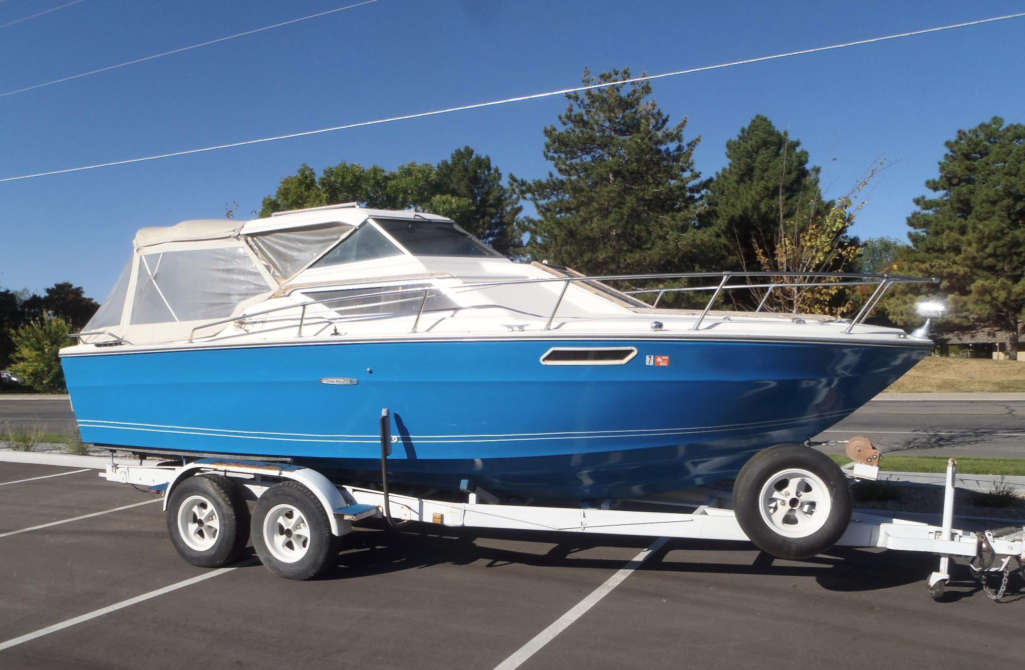 1974 Sea Ray Srv Hardtop Cuddy Power Boat For Sale Www