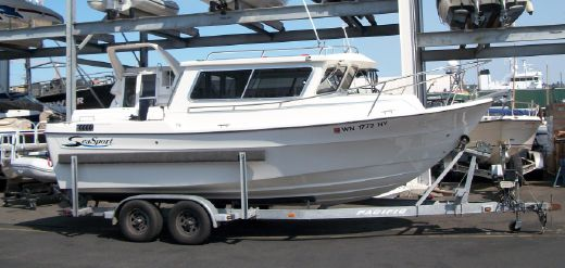 2009 Sea Sport Sportsman 2200 / Charter Series