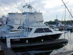 1993 Cabo Yachts 35 Flybridge Sportfisher