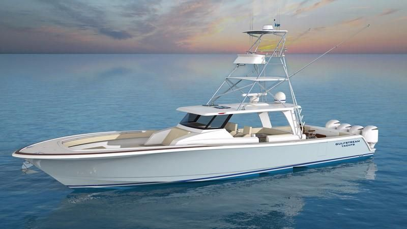 Hydra Sports Boats >> 2018 Gulfstream Yachts Tournament Edition Power Boat For ...