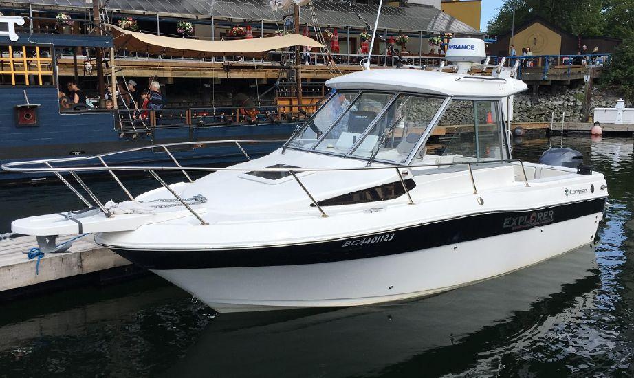 2014 Campion Explorer 682 Sport Cabin Bra Saltwater Fishing