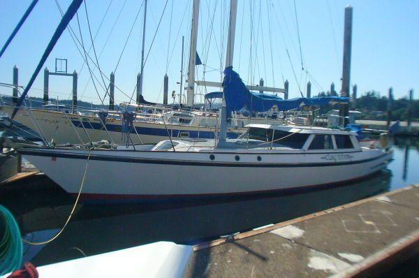 Bill Of Sale Wa >> 1983 Custom Pilothouse Sloop - Express Motorsailer Sail ...