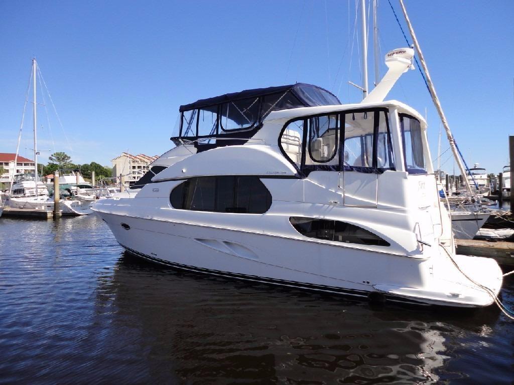2002 Silverton 43 Motor Yacht Power Boat For Sale Www