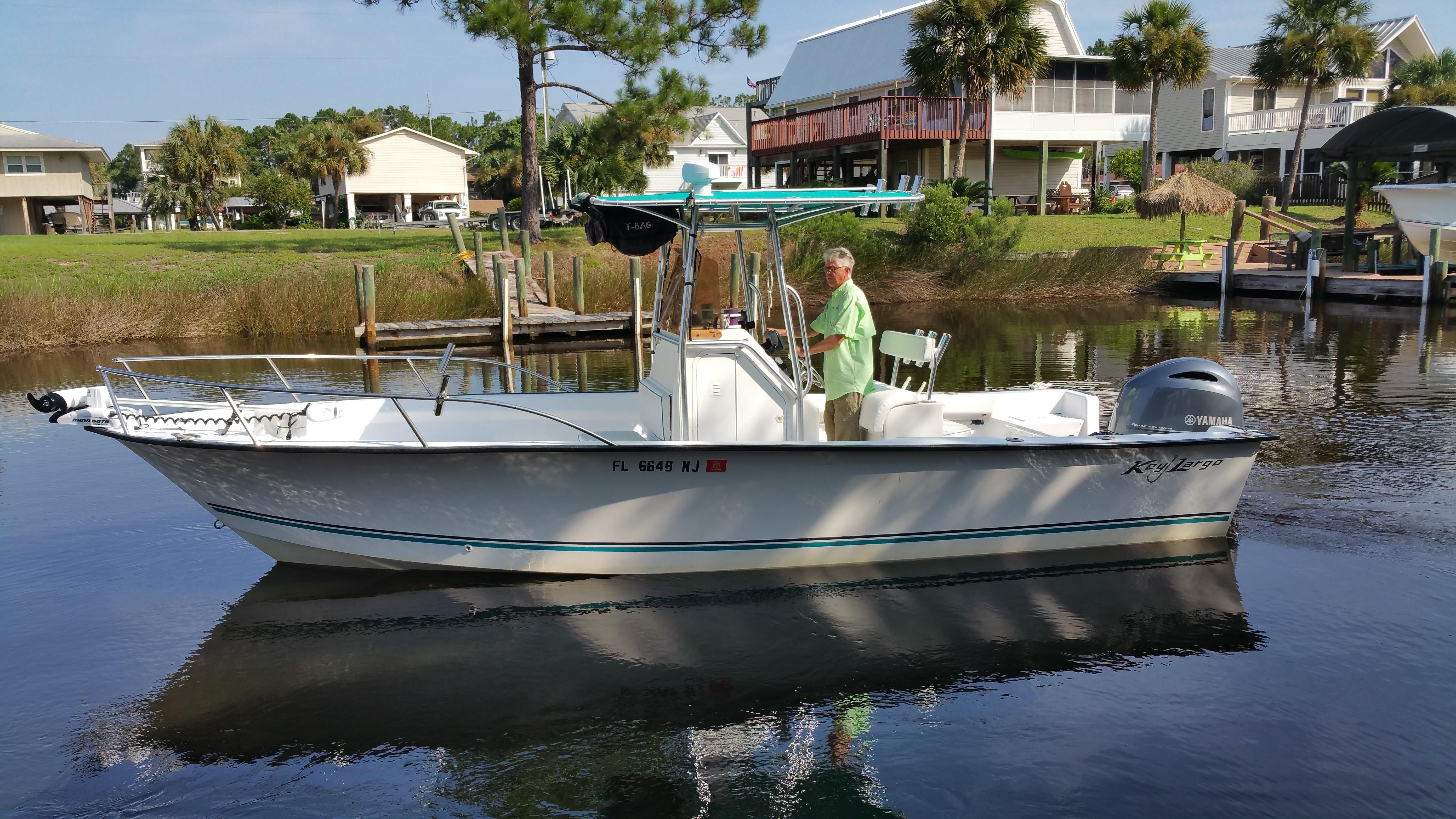 2007 key largo 236 cc power boat for sale for Yamaha repower cost