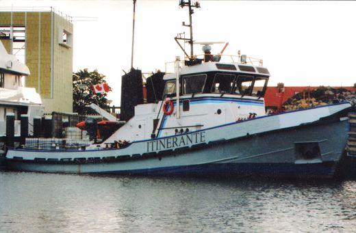 1963 Coastal Tug Tugboat