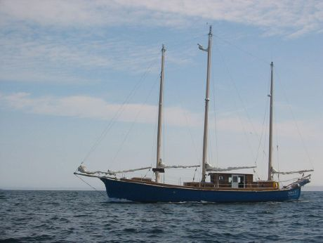 2003 Pilothouse Three Masted marconi rigged Schooner