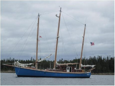 2003 Expedition Three Masted marconi rigged Schooner
