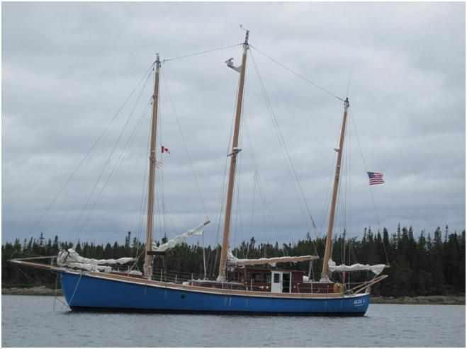 2003Expedition three masted marconi rigged Schooner