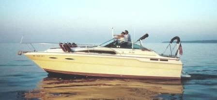 1985 Sea Ray 300 Sundancer w/ trailer