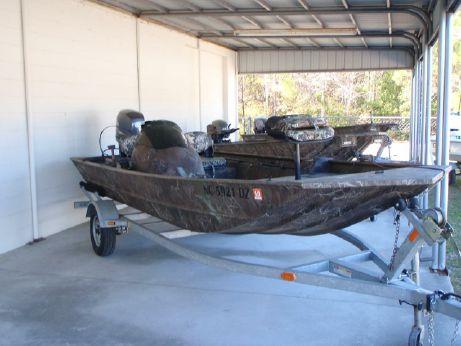 2012 G3 1756 Side Console Camo Jon Boat