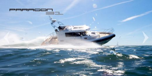 2017 Paragon Yachts 31 FLYBRIDGE