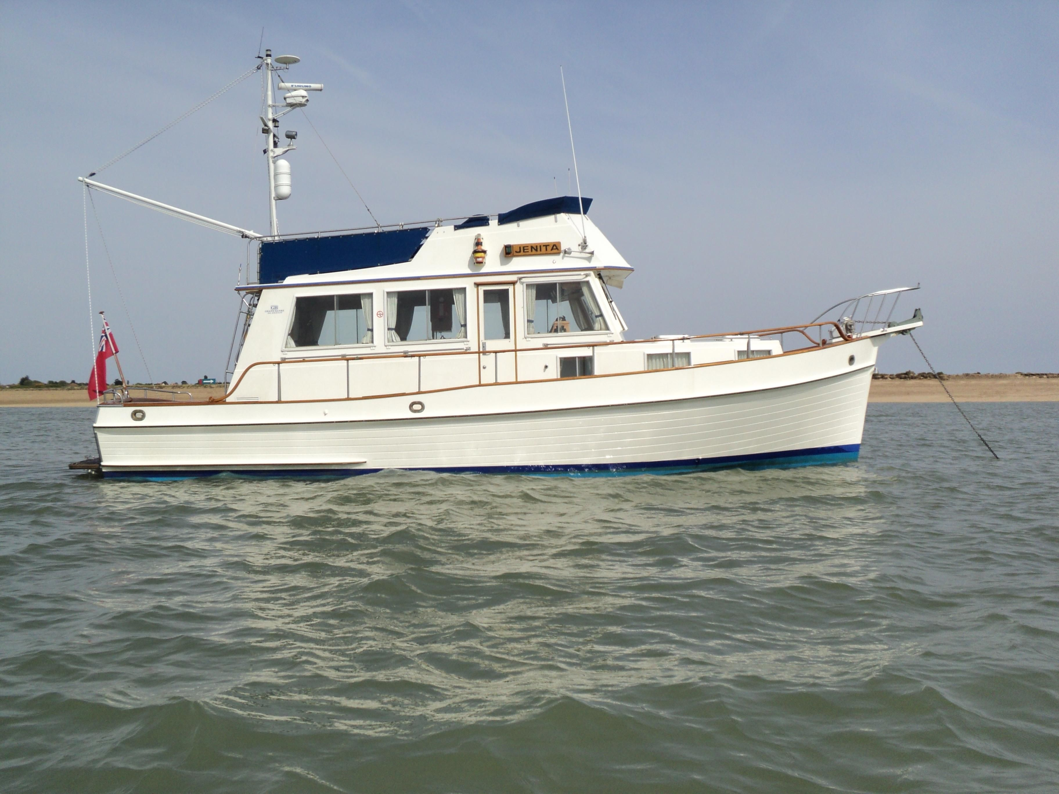 1991 grand banks 36 sedan power boat for sale www for Grand banks motor yachts for sale