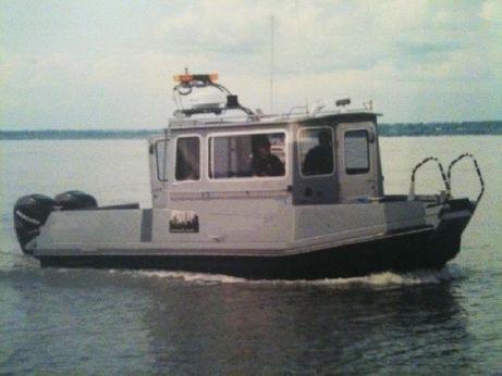 2006 Aluminum Chamber Boats 28 DVR