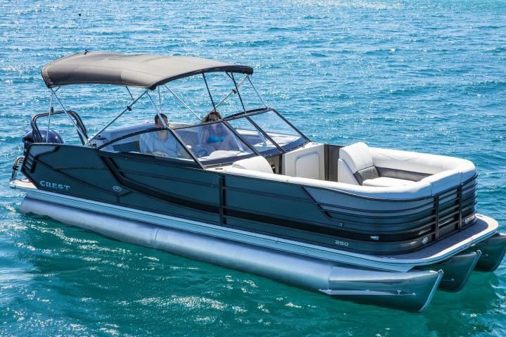 2017 Crest Continental 250 L Power Boat For Sale - www