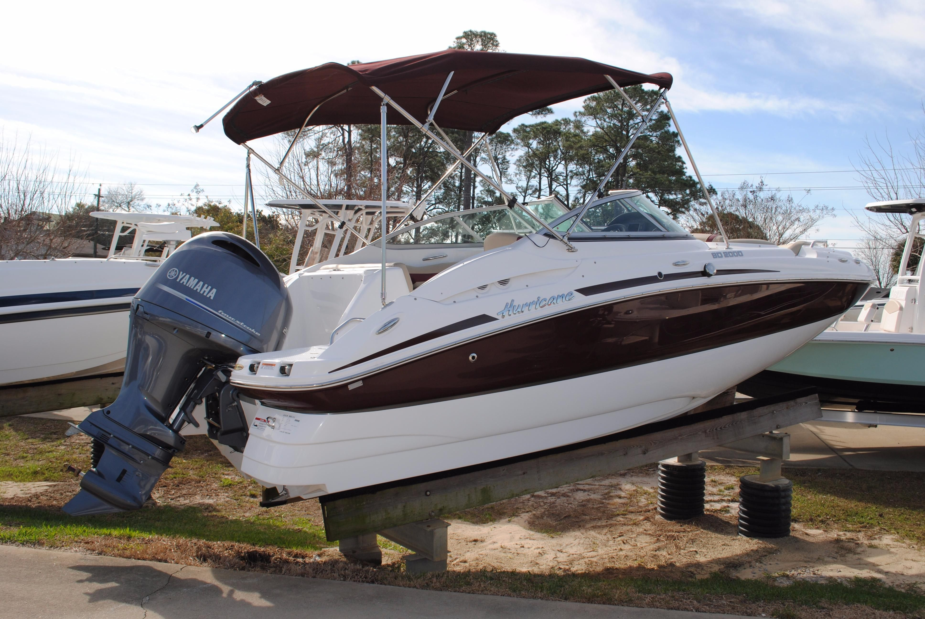 2017 hurricane sundeck 2000 outboard power boat for sale for Hurricane sundeck for sale