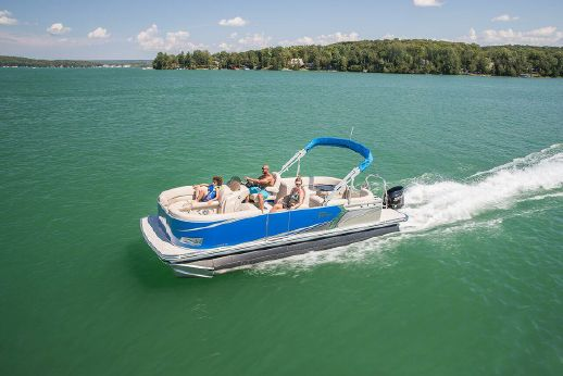 2018 Tahoe Pontoon LTZ 2485 Quad Lounge