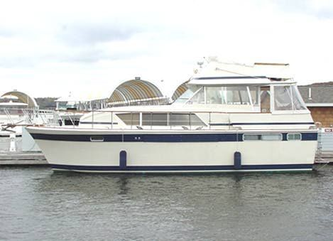 1977 Chris-Craft 410 Commander