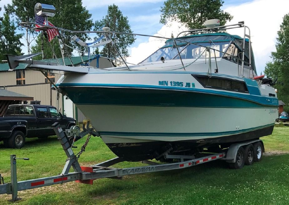 1990 Carver 2757 Montego Power New and Used Boats for Sale -